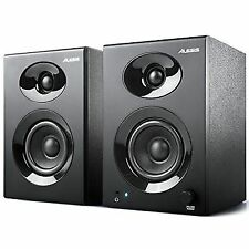 Alesis Elevate 3 MKII Powered Desktop Studio Speakers for Home and Mobile