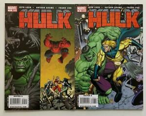 Hulk #7 & #8 A covers. (Marvel 2008) NM condition.