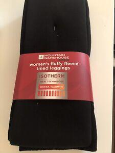 Mountain Warehouse Women's Fleece Lined Medium Leggings