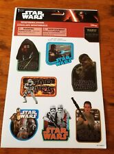 Disney Star Wars The Force Awakens Wall Decals Stickers 7 count Repositionable