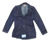Jou Jou Womens Size S Denim Blue Jacket