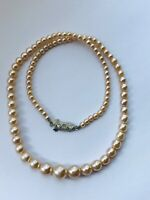 Faux PEARL Single Strand NECKLACE Choker