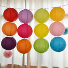 "Multicolor Chinese paper Lanterns Wedding Party Decoration 10"" 12"" 16"" Lovely HF"