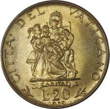 CITTA' DEL VATICANO - Giovanni XXIII - 20 lire 1959 FDC da Rotolino