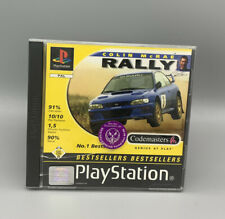 Colin McRae Rally (Sony PlayStation 1, 1998) PS1 Autorennen Spiel, Retro Game
