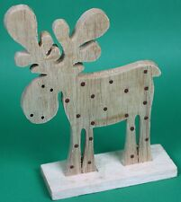 Christmas Moose Decoration Ornament