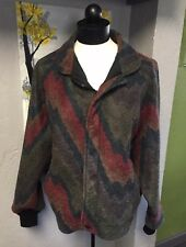 Vintage Walls Coat  80s 90s Multicolor Women��s Size  L Jacket With Zipper