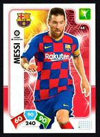 MESSI #68 BARCELONA 2019-20 CARD PANINI ADRENALYN XL LA LIGA SANTANDER
