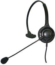 NFH1Q Monaural Headset for Mitel Avaya Nortel Polycom Toshiba Hybrex NEC Aspire
