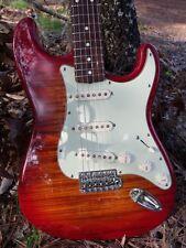 MIJ Fender Foto Flame  Strat,54 CS Pickups,Fender Case