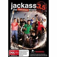 JACKASS 3.5: THE UNRATED MOVIE (2011), BRAND NEW & SEALED DVD (JOHNNY KNOXVILLE)