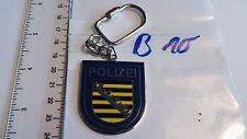 Polizei Schlüsselanhänger Sachsen blau 1 Stück (B10-)