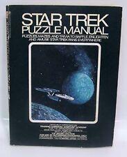 1976 STAR TREK PUZZLE MANUAL Un-Used