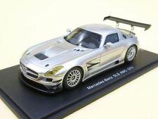 Mercedes Benz Sls Coupe 6.3 Amg Gt3 2012 Matt Silver Spark 1:43 PD04311011
