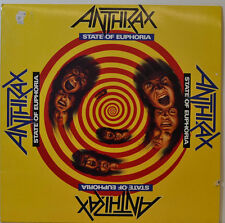 """ANTHRAX - STATE OF EUPHORIA - ISLAND ILPS 9916 - 12"""" LP (y547)"""