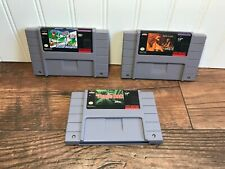 The Jungle Book, Lion King, & Rabbit Rampage Super Nintendo games, SNES bugs