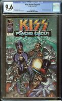 Kiss Psycho Circus Comic #1 (1997) CGC 9.6 White Pages