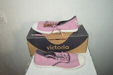 CHAUSSURE TOILE BASKET TENNIS VICTORIA TAILLE 36 SHOES/ZAPATOS/STIVALI NEUF
