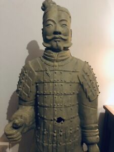 Chinese Terracotta Army Figure Large 103cm Resin