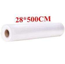 Food Vacuum Bag Storage Bags For Vacuum Sealer Vacuum Packaging Rolls 28*500CM