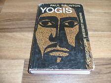 Paul Brunton -- YOGIS // verborgene Weisheit Indiens / von 1961