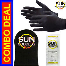 Best Sunless Self Tanning Application Mitt + Gloves + Self Tanning Lotion Tanner