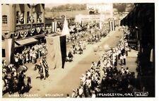 RPPC,Pendleton,OR.Pendleton Round-Up,Street Parade,Andrews Photo,# 127,1944