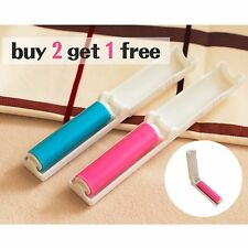 Portable  Washable Sticky Dust Remover Lint Roller Pet Hair Picker Cleaner Brush