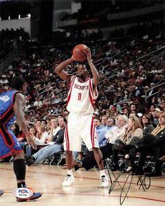 Aaron Brooks signed 8x10 photo PSA/DNA Houston Rockets Autographed