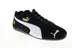Puma Scuderia Ferrari Speedcat Mens Black Motorsport Inspired Sneakers Shoes 7