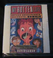 """My Rotten Life"" 1 by David Lubar (2009, CD, Unabridged) 3 CDs Audio Zombies"