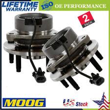 MOOG Front Wheel Bearing and Hub Assembly 2 PCS For Chevrolet Cobalt