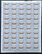 NORFOLK ISLAND 1976/7 16c, 17c & 18c Butterfly Sheets 50 MNH