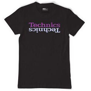 Official DMC Technics Limited Edition - t-shirt Black/Purple (s/m/l/xl/xxl) NEW