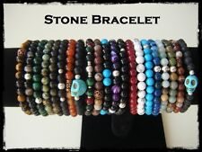 Bracciali in pietra dura naturale unisex. Hand made Stone Bracelet. Entrate!