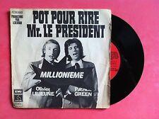 Vinyle, PATRICK GREEN ET OLIVIER LEJEUNE, 45 Tours VINTAGE, LES DEUX FOLLES...