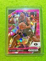 ANTHONY EDWARDS PINK ICE PRIZM ROOKIE CARD TIMBERWOLVES SP RC  2020 Panini Prizm