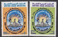 UAE : 1990 Dubai Chamber of Commerce  set SG 308-9 MNH