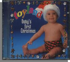 Toyland: Baby's First Christmas - New Soothing, Lullabye Music CD!