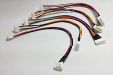 Lipo Balance Extension Lead Cable JST-XH 20cm - 2s 3s 4s 5s 6s - Turnigy Zippy
