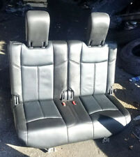 2013 NISSAN PATHFINDER 3RD THIRD ROW BACK SEAT LEATHER OEM