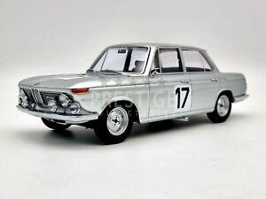 Minichamps 1966 BMW 2000 Ti #17 Ickx / Hahne 1:18 Scale Model Car - New