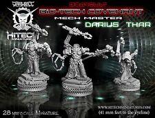 HiTech Miniatures Mech Master Darius Thar (28mm)   Bio Tech Covenant SF Tabletop