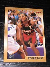 1998-99 Topps ROSHOWN MCLEOD RC card #218 ~ Atlanta Hawks Rookie ~ F1