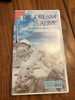 THE DREAM IS ALIVE A Window Seat On the Space Shuttle VHS Video Tape SHIPS N 24h