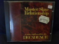 Master/Slave Relationship ‎– A New Explanation For Decadence