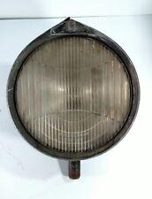 Vintage Depress Beam Head Lamp Glass Bucket Headlight 1930s Rat Rod Hotrod Parts