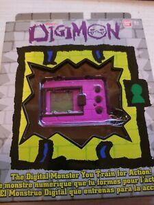 Digimon Bandai Original Digivice Virtual Pet Tamagotchi Monster Game Purple New