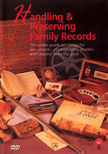 HANDLING AND PRESERVING FAMILY RECORDS - DVD - REGION 2 UK