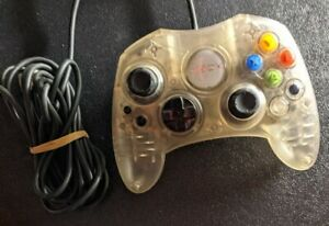 MICROSOFT Xbox Crystal Controller Tested Working